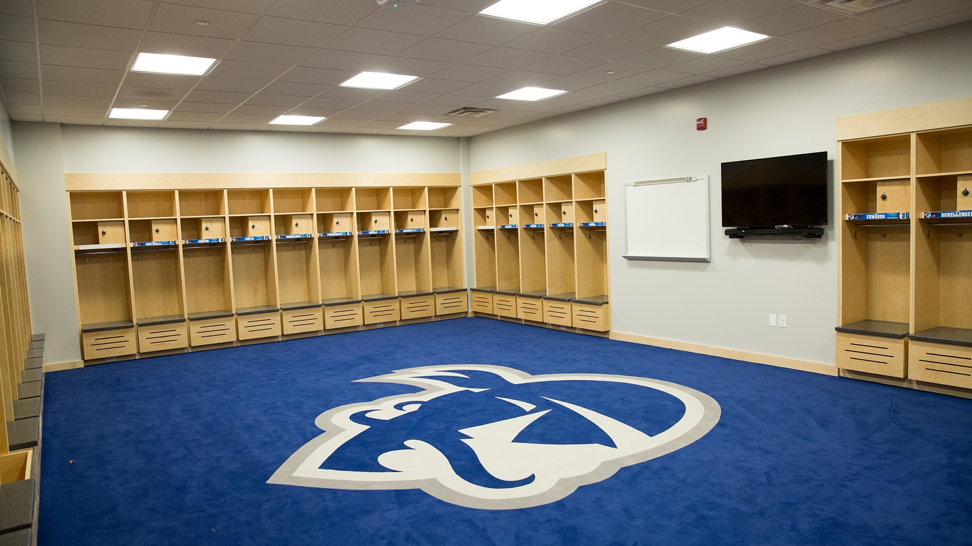 Locker Room Project Completed And Unveiled To Student Athletes