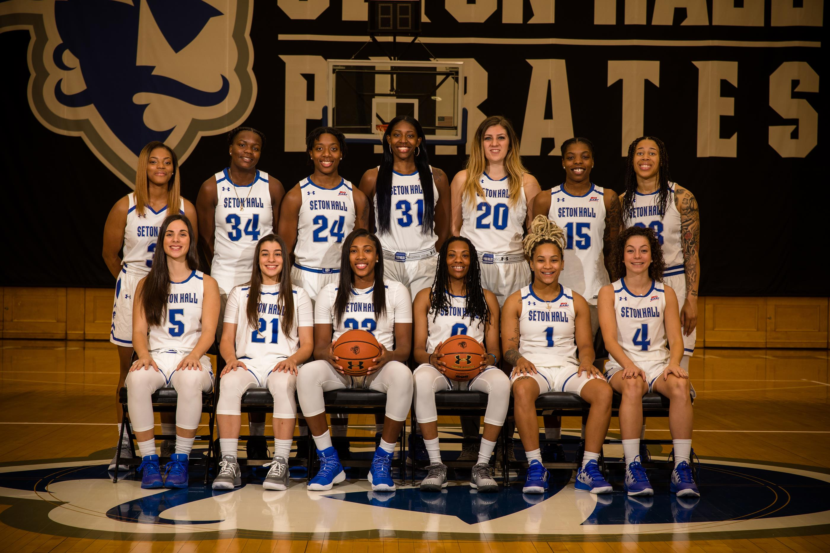 pirates open 2017-18 season on friday afternoon - seton hall