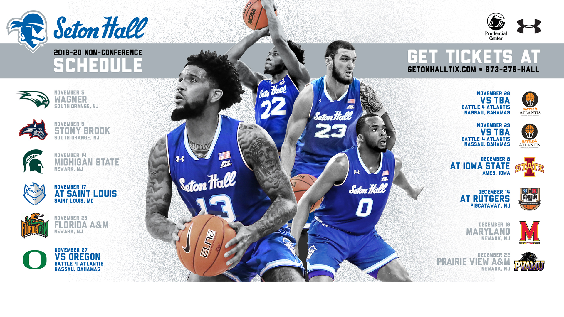 2019 20 Non Conference Schedule Released Seton Hall
